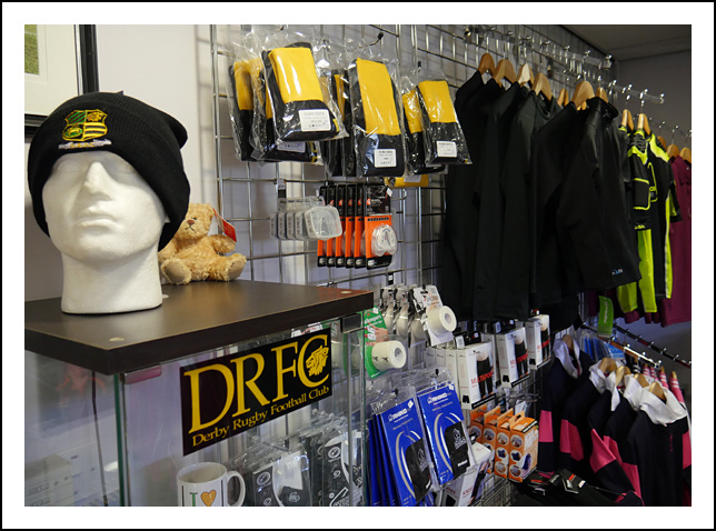 DRFC Club Shop 1